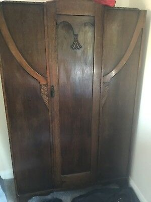 ART DECO WARDROBE 1930s 1940s