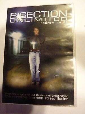 Andrew Mayne BISSECTION UNLIMITED DVD Magie