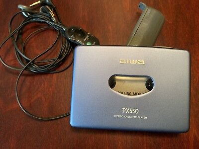 AIWA HS-PX550 Vintage Stereo Cassette Player - Works Great