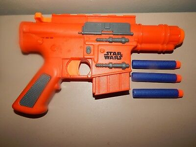 Star Wars Rogue One Cassian Andor Blaster Weapon Toy Nerf Gun Cosplay  Sound