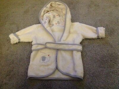 Baby 0-6 Months Towelling Bathrobe, Dressing Gown, Robe