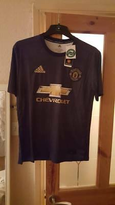 Manchester united football third away shirt size XL EXTRA Large 2018 19 man utd