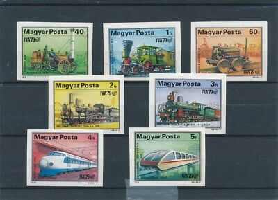 [109477] Hungary 1977 Zeppelin good Imperf. Sheet very fine MNH