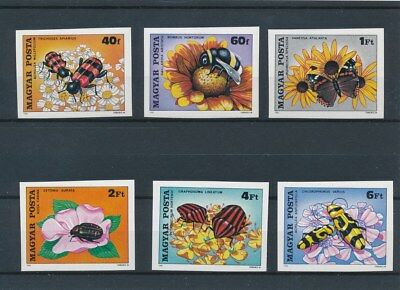 [109486] Hungary 1980 Fauna/Flora good Set very fine MNH Imperf. Stamps