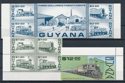 [G88517] Guyana good lot Very Fine MNH stamps
