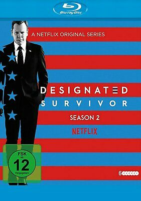 Designated Survivor - Season/Staffel 2 # # 6-BLU-RAY-BOX-NEU
