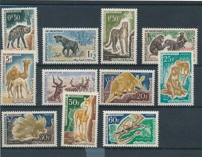 [109579] Mauritania 1963 Fauna good Lot very fine MNH Stamps