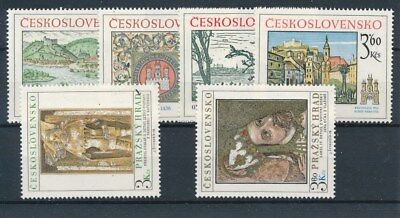 [109617] Czechoslovakia Art/Painting good Lot very fine MNH Stamps