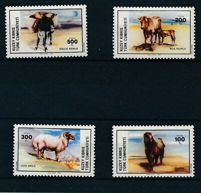[109661] Cyprus Turkey 1985 Fauna good Set very fine MNH Stamps