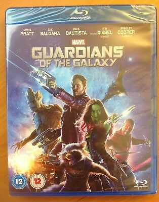 GUARDIANS OF THE GALAXY (Blu-ray) *NEW/SEALED* Marvel Films