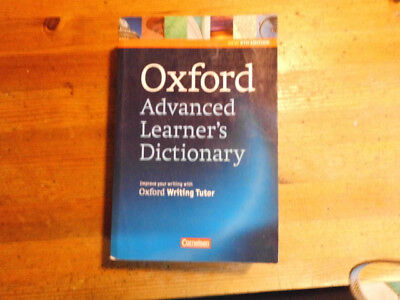 Cornelsen Englisch  Wörterbuch 2 Oxford Advanced Learner's Dictionary