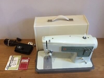 Vintage Singer 449 Heavy Duty Sewing Machine with Case Available Worldwide