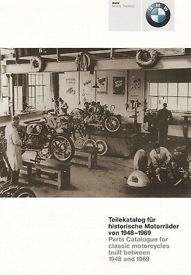 BMW Teile Parts Motorrad History Mobile Tradition Prospekt Brochure 2000 45