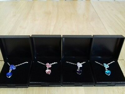 Job Lot 4 NEW ITEMS OF JEWELLERY GIFT BOXED NECKLACES