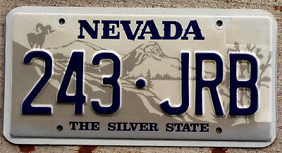 2001 Nevada Ram on Mountain Top with Joshua Tree License Plate