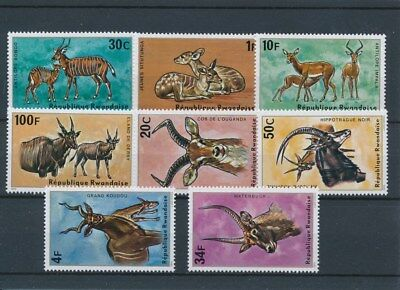 [134085] Rwanda 1975 Fauna good set of stamps very fine MNH