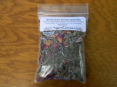 ATTRACT LOVE HERBAL Spell Mix (Small, 4