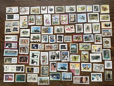 Collection Of Ireland Stamps Kiloware