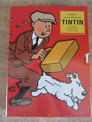 Adventures Of Tintin In America   { 5 Book Boxset }  Very Rare  New And Sealed