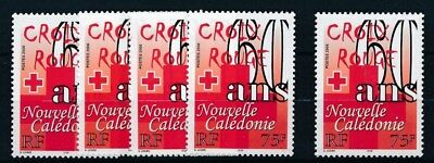 [134425] New-Caledonia 2006 Red Cross good stamps (5) very fine MNH