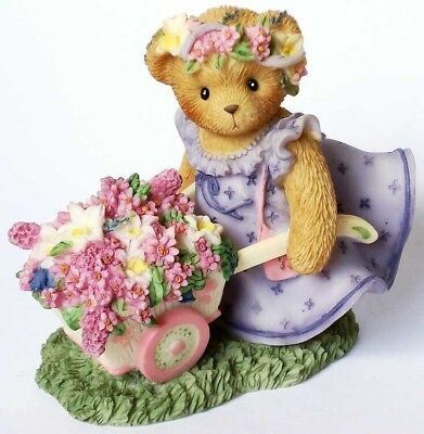 """Cherished Teddies """"Bringing Forth Bouquets Of Blessings"""" 4009177"""