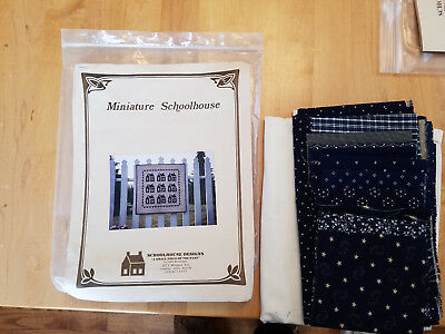 Miniature Schoolhouse Quilt kit 28X28 finished size