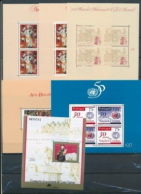 [G117505] Portugal 6 good Sheets very fine MNH