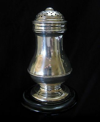 Antique Georgian Silver Muffineer / Shaker - Salt, Pepper, Condiment