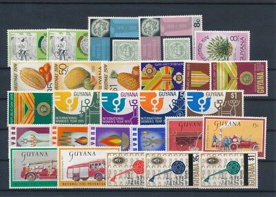 [G126012] Guyana good lot of stamps very fine MNH