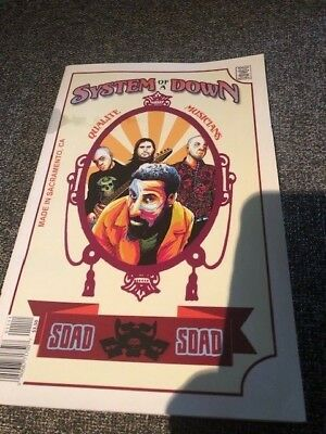 System of a Down Comic Book promo