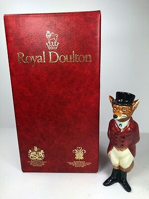 Royal Doulton, England, Huntsman Fox, Retired 1981, With Original Box