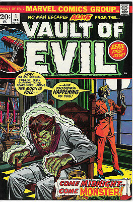 Vault of Evil #1 (Marvel Comics, Feb 1973)  9.0 VF/NM