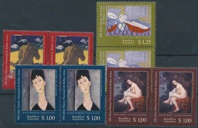 [16798] Argentina 1996 : 2x Good Set of Very Fine MNH Stamps