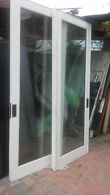 FRENCH DOORS 8 ft   for 6 foot opening!