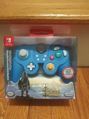 PDP Super Smash Bros Wired Fight Pad Pro Link for Nintendo Switch