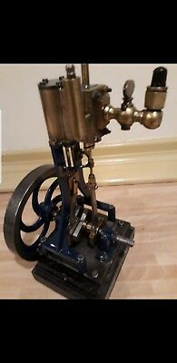 Verticle Steam Engine Model