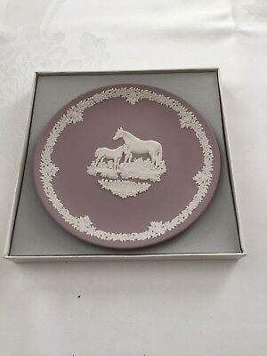 "Wedgwood Pink Collector Plate, England, 8.75""Diameter"