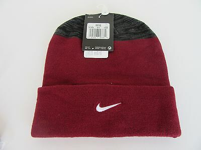 online store 68c52 6fb64 NIKE BEANIE HAT burgandy red ONE SIZE