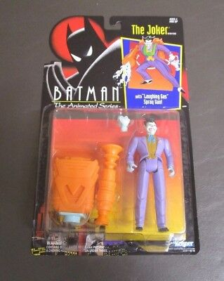 Batman the Animated Series TV Show The Joker With Laughing Gas Gun MOC