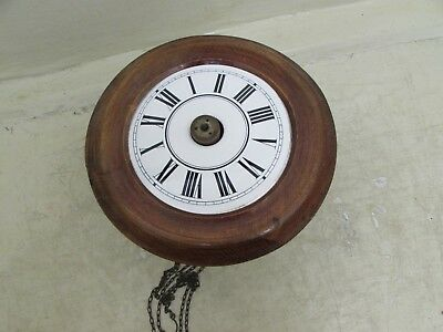Antique Postmans Alarm Wag On The Wall Clock For Spares / Repairs