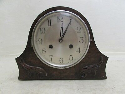 1920's Art Nouveau Mantel Clock, Haller Germany For Repair