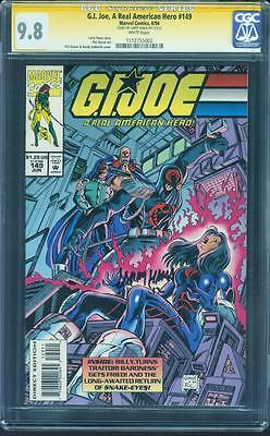 G.I.Joe 149 CGC SS 9.8 Larry Hama Signed Movie KEY Bondage Cover Issue Rare