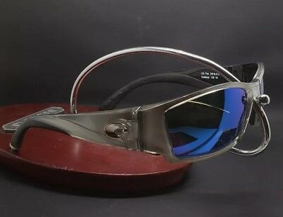 7330a46c200 Costa Del Mar Corbina CB-18 Silver Frame Blue mirror 580G Polarized 2017 New