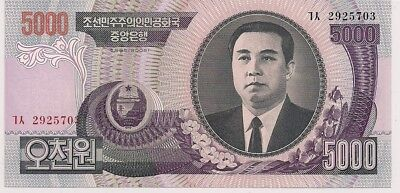Korea    #46b  5000 Won  2006 in Unc