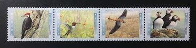 "Canada #1591i-1594ai MNH, Birds of Canada ""1"" Strip of Stamps 1996"