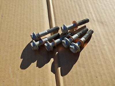 1991 1992 KTM 250 Sx Exc Cylinder Head Bolts And Copper Washers real nice