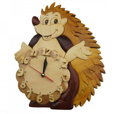 Q Toys Echidna Wooden Wall Clock