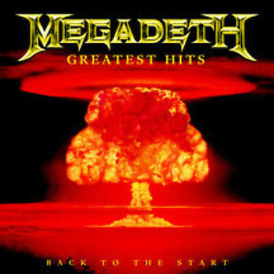 Greatest Hits: Back to the Start Megadeth CD