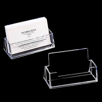 Office Practical Business Card Holder Desktop Dispensers Display Stand Pretty