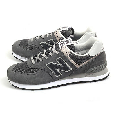 2d56fc3b4eb3 New Balance ML574EPH D Grey & Light Grey Suede Classic Retro Sneakers 2019  NB